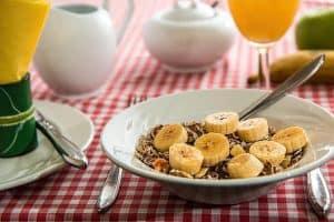 desayuno, avena