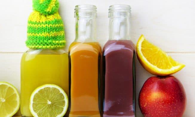 jugos de frutas y verduras