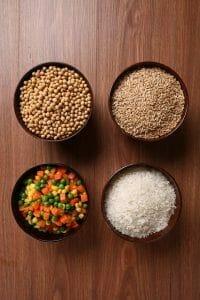 verduras, legumbres