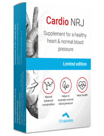 Cardio NRJ, suplemento para la hipertensión
