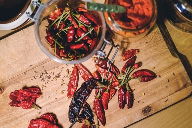 termogeniki, papryka chili