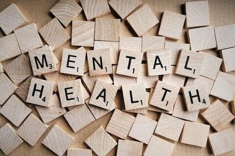 Mental Health Inscripción en el Scrabble