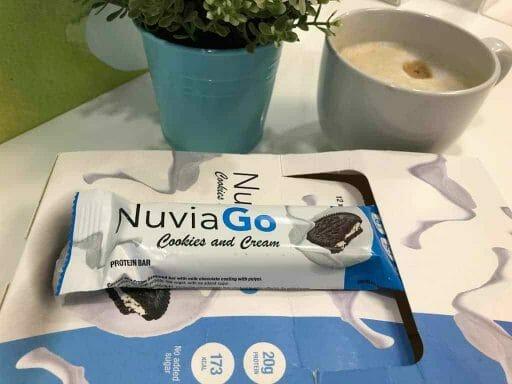 Barra de proteínas NuviaGo